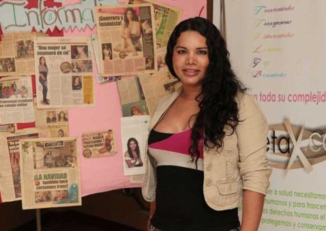 Diane Rodriguez primera candidata transexual en ecuador aspira llegar a la asamblea nacional hito historico