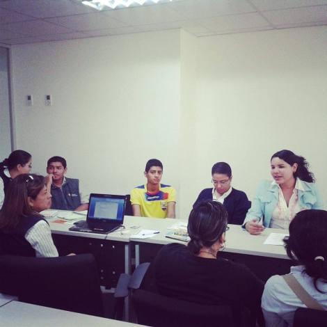 Reunión con el Ministerio de Educación