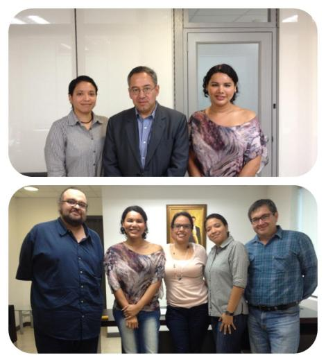 Reunión con Ministro de Educación y Altos funcionarios del Minsiterio de Educación - Diane Rodríguez Silueta X