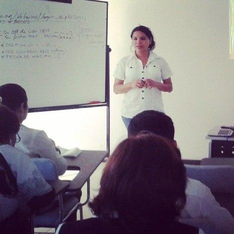 Taller para las Autoridades del Colegio Nacional Vicente Rocafuerte