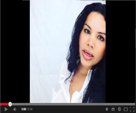 Diane Rodriguez con campaña mi genero en la cedula 2014-Siluetax