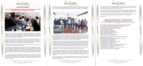 Captura de los Resultados del Almuerzo de Trabajo entre la Población TILGB y el Presidente del Ecuador Rafael Correa delgado
