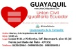 El Lanzamiento de Campaña en Guayaquil