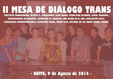 II mesa de Dialogo Trans