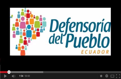 Tiempo de Derecho - Defensoria del pueblo.