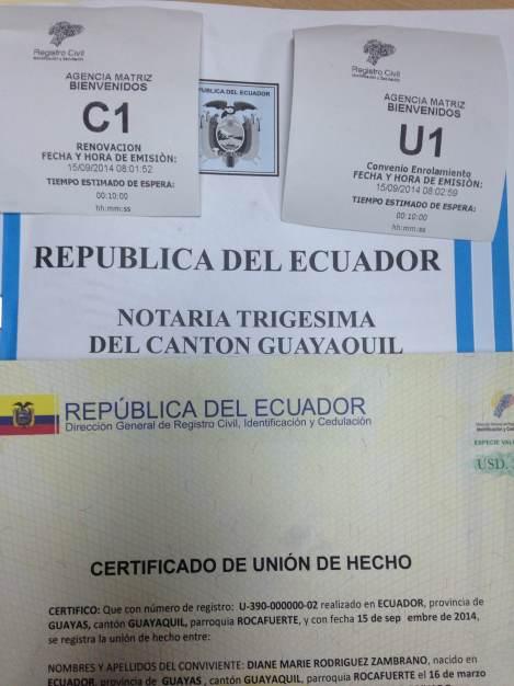 Primera pareja homosexual registra su unión de hecho en Ecuador - unión civil igualitaria - diane rodriguez y nicolas guamanquispe (5)
