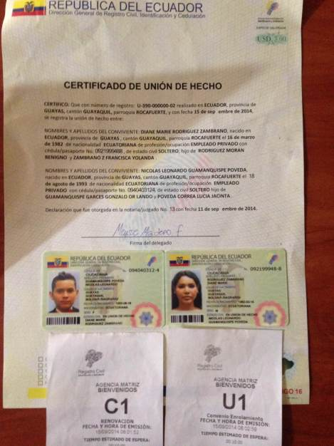 Primera pareja homosexual registra su unión de hecho en Ecuador - unión civil igualitaria - diane rodriguez y nicolas guamanquispe (8)