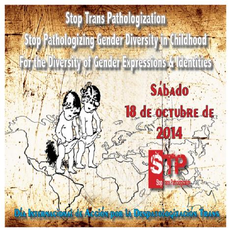 Día Internacional de Acción por la Despatologización Trans 2014