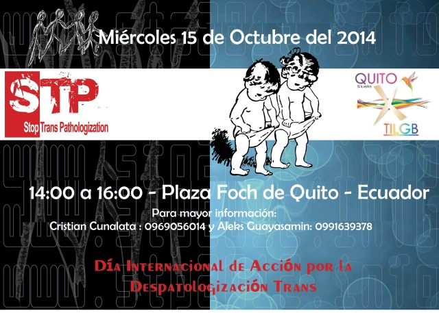 Despatologización de la Transexualidad - Silueta X Quito