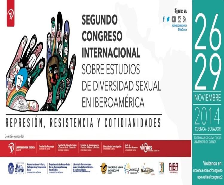 II Congreso Internacional sobre estudios de diversidad sexual en Iberoamerica - Auspicia Asociaicón Silueta X