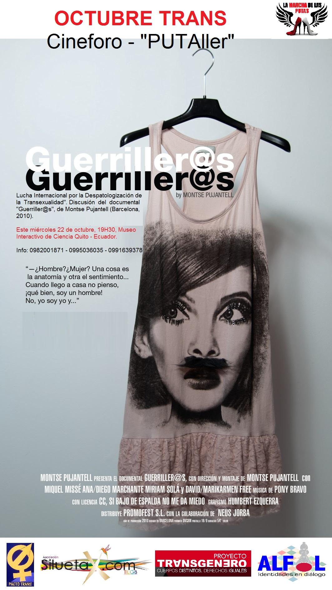Quito – Cine foro PUTAller del Octubre Trans | Comunidad Futura