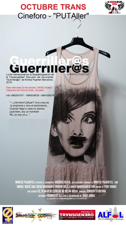 Octubre Trans Ecuador - Documental Gerriller@s - Silueta X - Alfil - Proyecto Transgénero