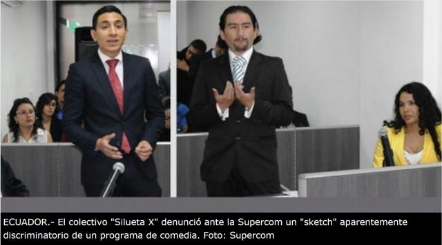 Ordenan a canal de TV en Ecuador ofrecer disculpas públicas a colectivo GLBTI-DianeRodriguez