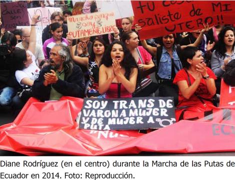 Activista transexual sufre persecución y defensores piden protección del Estado-DianeRodriguez