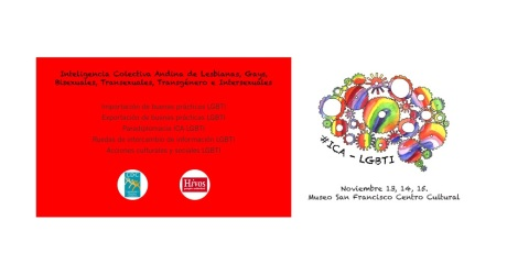 Primer encuentro internacional Inteligencia Comunitaria Andina ICA 2014 La Paz - Bolivia