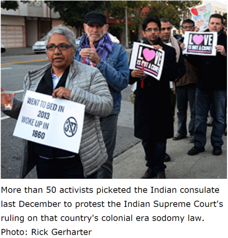Trikone lanza campaña para derogar ley de sodomía en India.