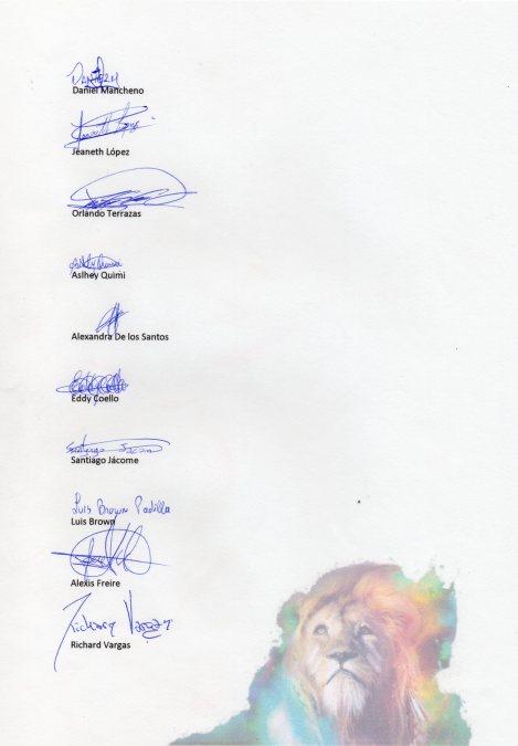 Manifiesto de los y las defensores y defensoras de derechos humanos TILGB LGBT, capitulo Yungilla, Cuenca, Ecuador realizado por la Asociación Silueta X 3
