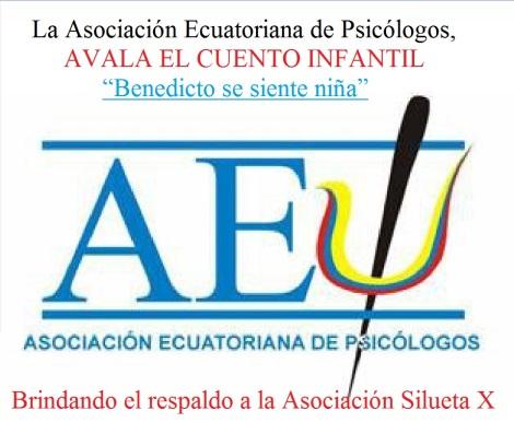 Asociación Ecuatoriana de Psicólogos avala el cuento infantil Benedicto se siente niña para niños transexuales, brindando respaldo a la Asociación Silueta X