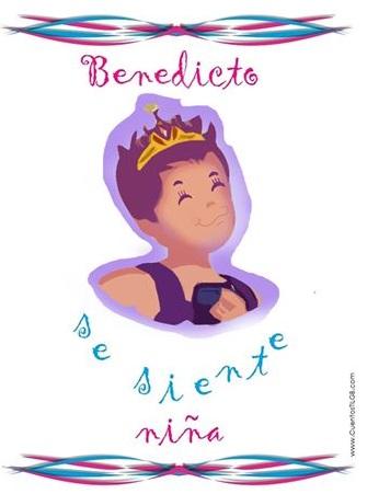 Benedicto se siente niña - Cuento para niños transexuales