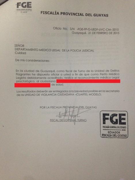 Denuncia Violan a niño en Guayaquil 2015 Asociación Silueta X (1)
