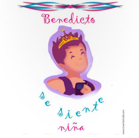 Primer cuento para niños transexuales, 'Benedicto se siente niña'
