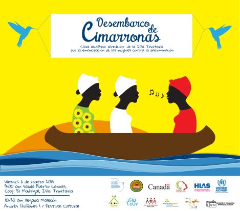 Chiva Acuatica en conmemoración del día de la mujer