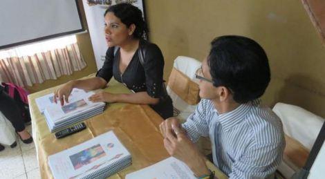 Presentación del Informe para el buen vivir LGBT con Diane Rodríguez de Silueta X y Fernando Pineda de Diverso Ecuador