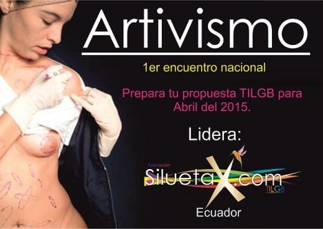 Primer Encuentro de Artivismo en Ecuador