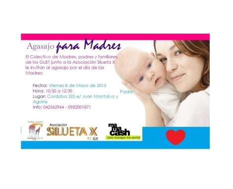 Agasajo por el día de las Madres - Colectivo Padres y Madres de los LGBT y Silueta X Guayaquil