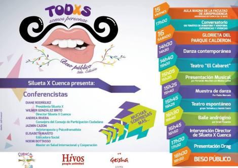Agenda de Cuenca contra el Día de la Homo Les Trans Fobia