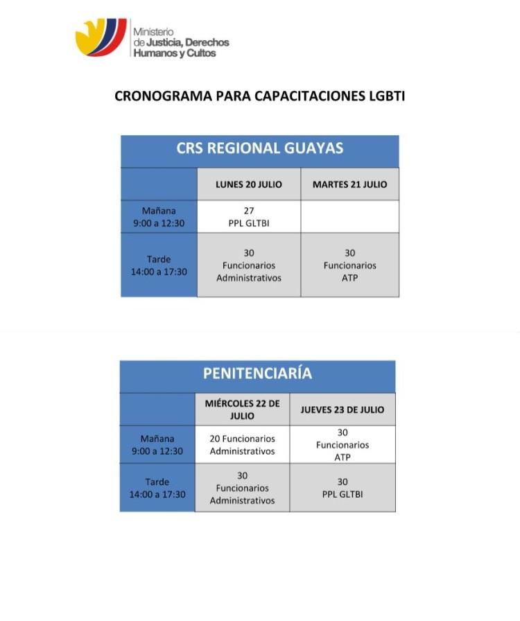 Capacitaciones LGBTI al Ministerio de Justicia por parte de Silueta X - 2015