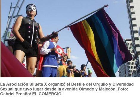 La marcha del Orgullo GLBTI tiñó de colorido el centro de Guayaquil- SiluetaX