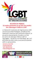 Boletín - Ecuador en el 2do encuentro de liderazgos políticos LGBT 2015