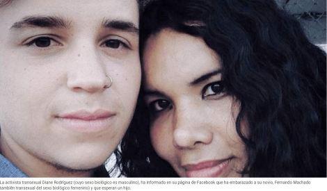 Actriz transexual embarazó a su novio - Siluetax- DianeRodriguez