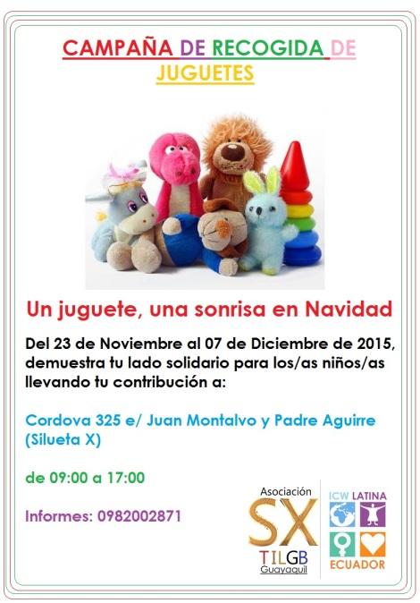 Campaña de recogida de juguetes - Asociación Silueta X