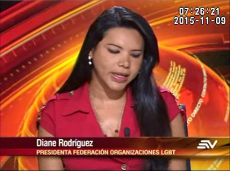 Diane Rodriguez aclara sobre género universal y opcional