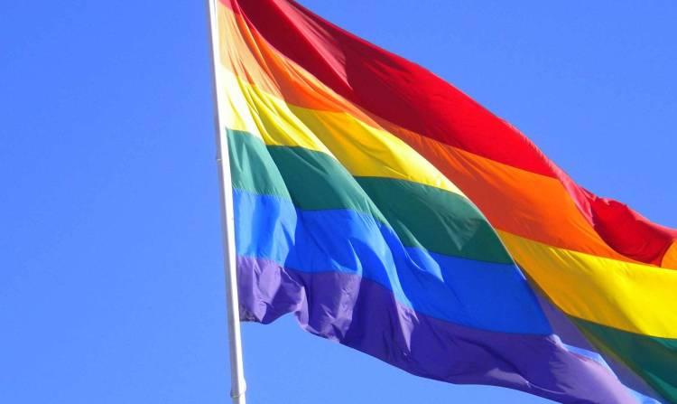 Bandera LGBT - Silueta X