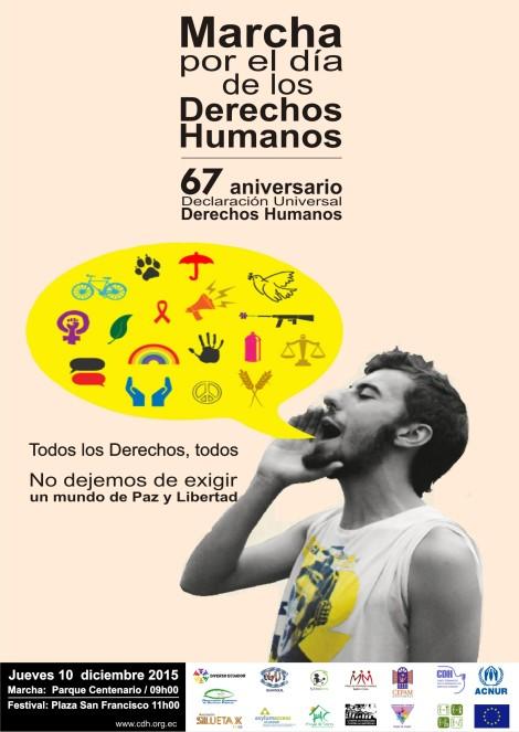 Marcha y Festival por el Día de los Derechos Humanos