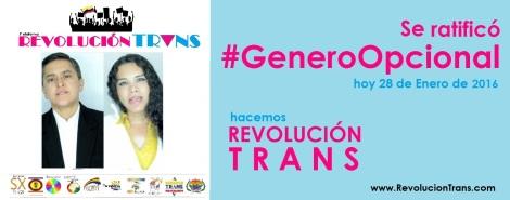 Se ratifico el genero opcional en la cedula - Hacemos revolucion trans Ecuador - Diane Rodriguez
