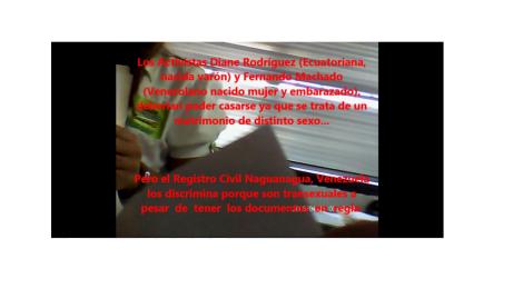 Diane Rodriguez y Fernando Machado Discriminados