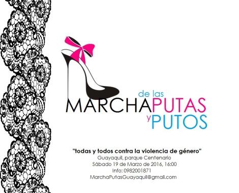Marcha de las Putas Guayas