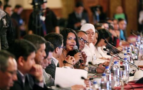 5ta Reunión entre Poblaciones LGBT y el Presidente del Ecuador Rafael Correa - Acuerdos - Diane Rodriguez