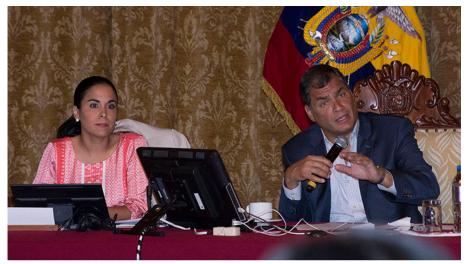 Presidente Rafael Correa presidió quinta reunión con representantes de colectivos LGBTI