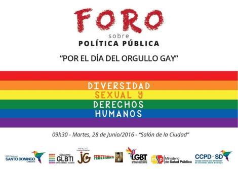 Foro de Politicas Publicas LGBTI