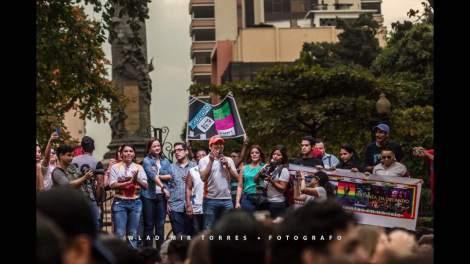Vista desde la Plataforma del Festival organizada por la Federación Ecuatoriana de Organizaciones LGBTI (3)