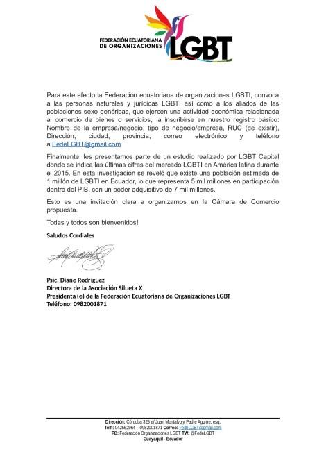 Camara de Comercio LGBTI de Ecuador (1)