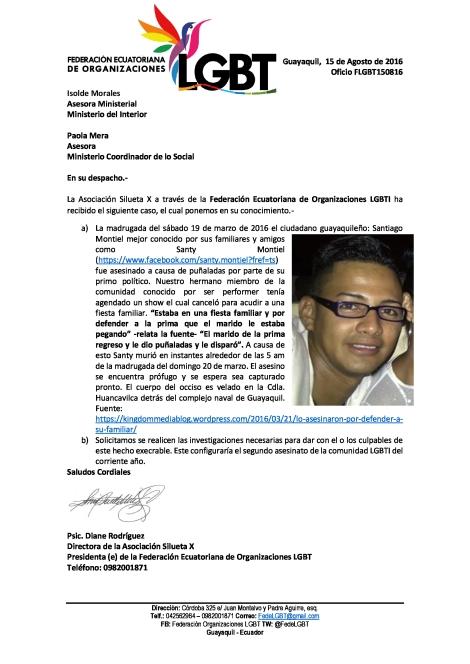 Oficio-FLGBT150816-Min-Interior-LGBTI-es-asesinado
