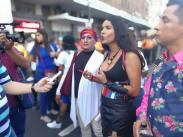 Fotos no profesionales del Orgullo Guayaquil Pride Gay Ecuador 2018 - Diane Rodriguez transgenero outfit mujer maravilla amazona wonder woman LGBT (21)