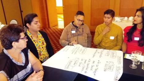 La Asociación Silueta X trabaja en taller de VIH con UNFPA-Federacion Ecuatoriana LGBTI Ecuador