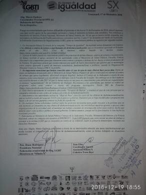 asosiacion silueta x articula mesa interinstitucionalidad con defensoria del pueblo ecuador para eliminar clinicas de torturas destransexualizacion o deshomosesualizacion7